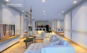 Desain Interior Rumah Klasik Modern Tropis