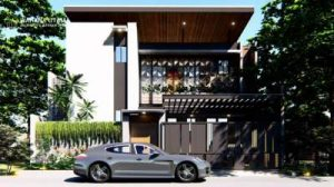 Desain Rumah Industrial Style Ibu Maya Jakarta