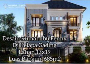 Desain Rumah Klasik Modern Tropis Di Kelapa Gading Jakarta