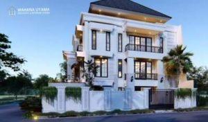 Gambar Desain Rumah Klasik Modern Tropis Mewah